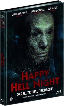 Happy Hell Night (1992) (Cover D, Limited Uncut Edition, Mediabook, Blu-ray + DVD)
