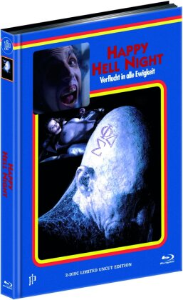 Happy Hell Night (1992) (Cover E, Limited Uncut Edition, Mediabook, Blu-ray + DVD)