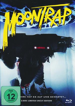 Moontrap (1989) (Cover B, Limited Edition, Uncut, Mediabook, Blu-ray + DVD)