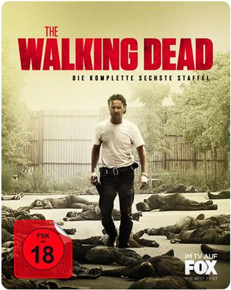 The Walking Dead - Staffel 6 (Limited Edition, Steelbook, Uncut, 6 Blu-rays)