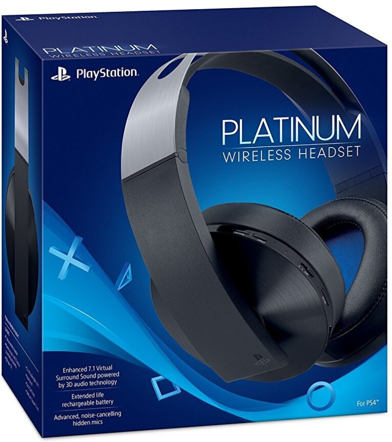 ps4 headset original platinum wireless. Black Bedroom Furniture Sets. Home Design Ideas