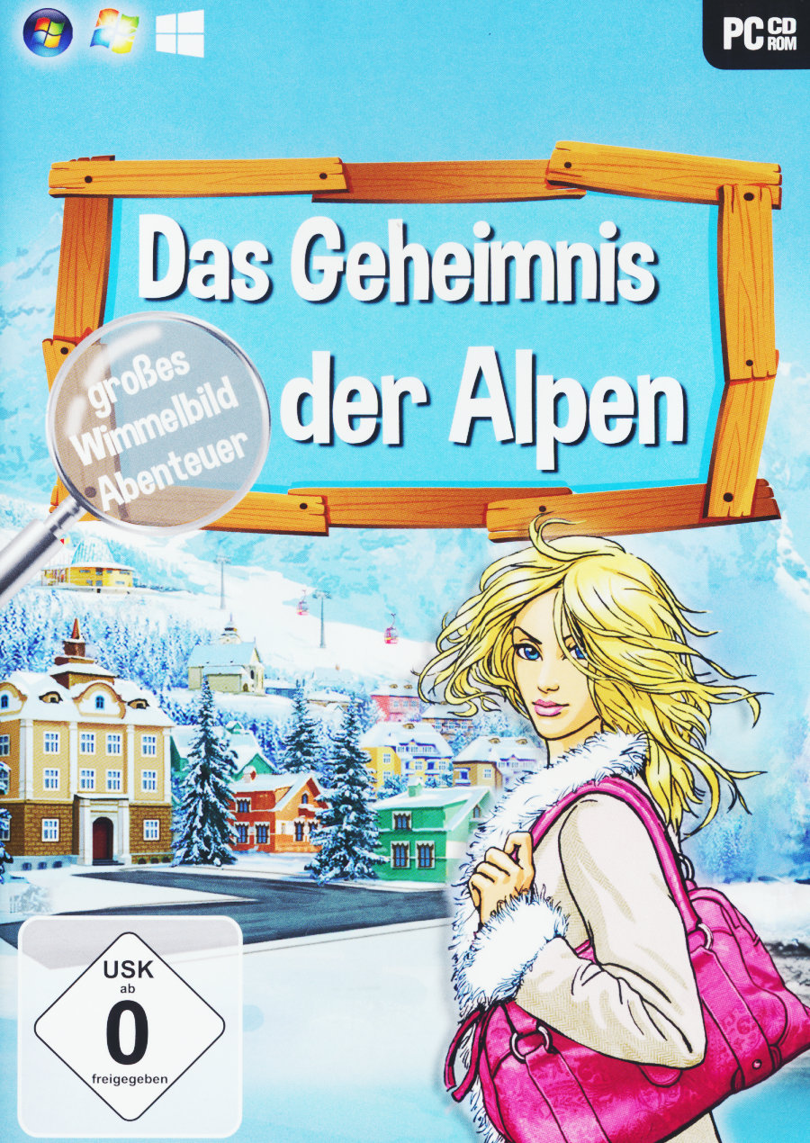 Bild Wimmelbild Geheimnis der Alpen