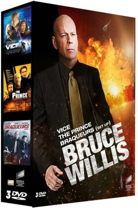 Bruce Willis - Vice / The Prince / Braqueurs (Box, 3 DVDs)