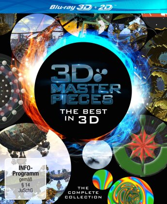 3D Masterpieces - The Complete Collection (2 Blu-ray 3D (+2D))