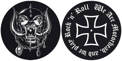 Motorhead Slipmat Set - We are Motorhead