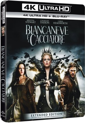 Biancaneve e il cacciatore (2012) (Extended Edition, Kinoversion, 4K Ultra HD + Blu-ray)