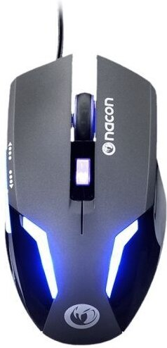 GM-105 Optical Gaming Mouse 2400 DPI - black
