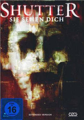 Shutter - Sie sehen Dich (2008) (Cover A, Extended Edition, Mediabook, Blu-ray + DVD)