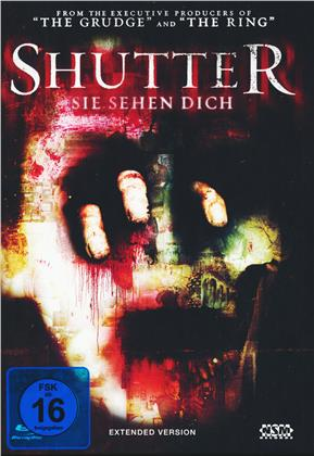 Shutter - Sie sehen Dich (2008) (Cover B, Extended Edition, Mediabook, Blu-ray + DVD)