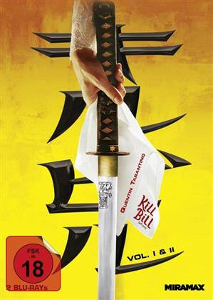 Kill Bill 1 & 2 (Cover A, Mediabook, 2 Blu-rays)