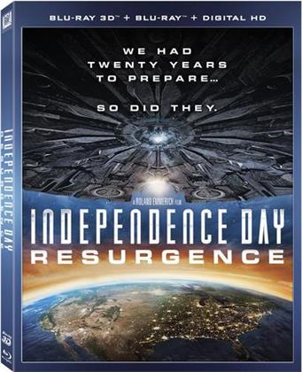 Independence Day - Resurgence (2016) (Widescreen, Blu-ray + Blu-ray 3D)
