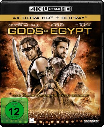 Gods of Egypt (2016) (4K Ultra HD + Blu-ray)