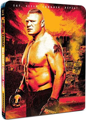 WWE: Brock Lesnar - Eat. Sleep. Conquer. Repeat. (Limited Edition, Steelbook, 2 Blu-rays)