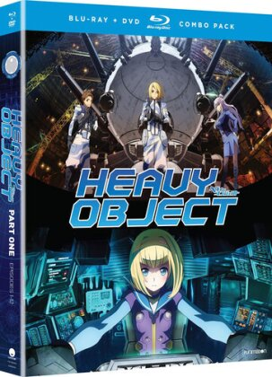 Heavy Object - Season 1.1 (2 Blu-rays + 2 DVDs)