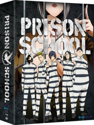 Prison School - The Complete Series (Limited Edition, 2 Blu-rays + 2 DVDs)