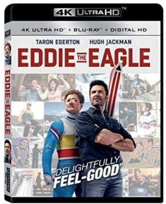 Eddie The Eagle (2016) (Blu-ray + 4K Ultra HD)