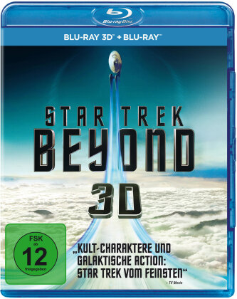 Star Trek 13 - Beyond (2016) (Blu-ray 3D + Blu-ray)