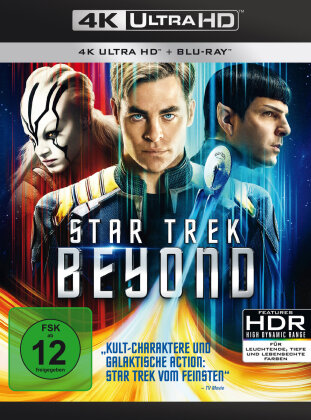 Star Trek 13 - Beyond (2016) (4K Ultra HD + Blu-ray)