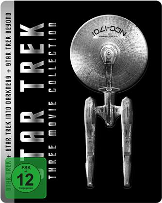 Star Trek - Three Movie Collection (Limited Steelbook, 6 Blu-rays)