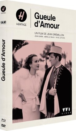 Gueule d'amour (1937) (Collection Heritage, Mediabook, s/w, Blu-ray + DVD)