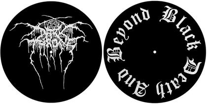 Darkthrone Slipmat Set - Black, Death And Beyond