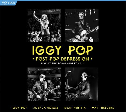 Iggy Pop - Post Pop Depression - Live at The Royal Albert Hall (3 Blu-ray + CD)