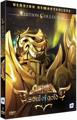 Saint Seiya - Les chevaliers du Zodiaque - Soul of Gold (2015) (Remastered, 2 DVDs)