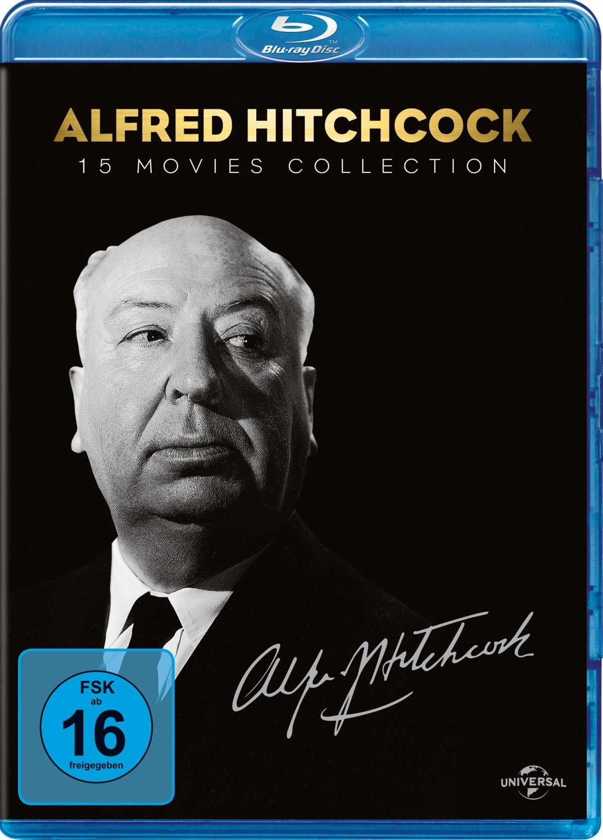 Alfred Hitchcock - 15 Movies Collection (15 Blu-rays)