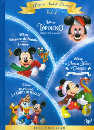Magico Natale Disney - Volume 2 (Digibook, 4 DVD)