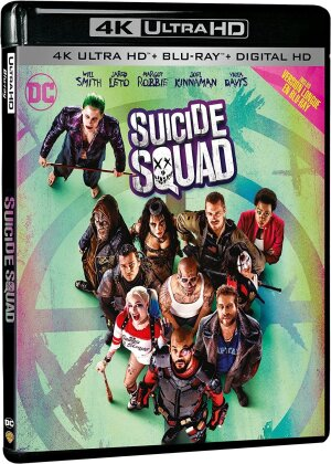 Suicide Squad (2016) (Kinoversion, Langfassung, 4K Ultra HD + Blu-ray)