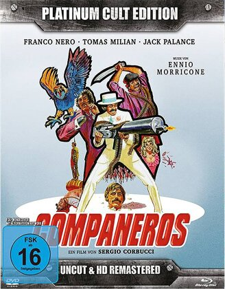 Companeros (1970) (Platinum Cult Edition, Remastered, Uncut, Blu-ray + 2 DVDs + CD)