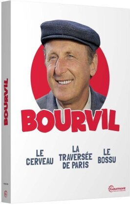 Bourvil - Le cerveau / La traversée de Paris / Le Bossu (Collection Gaumont, 3 DVDs)