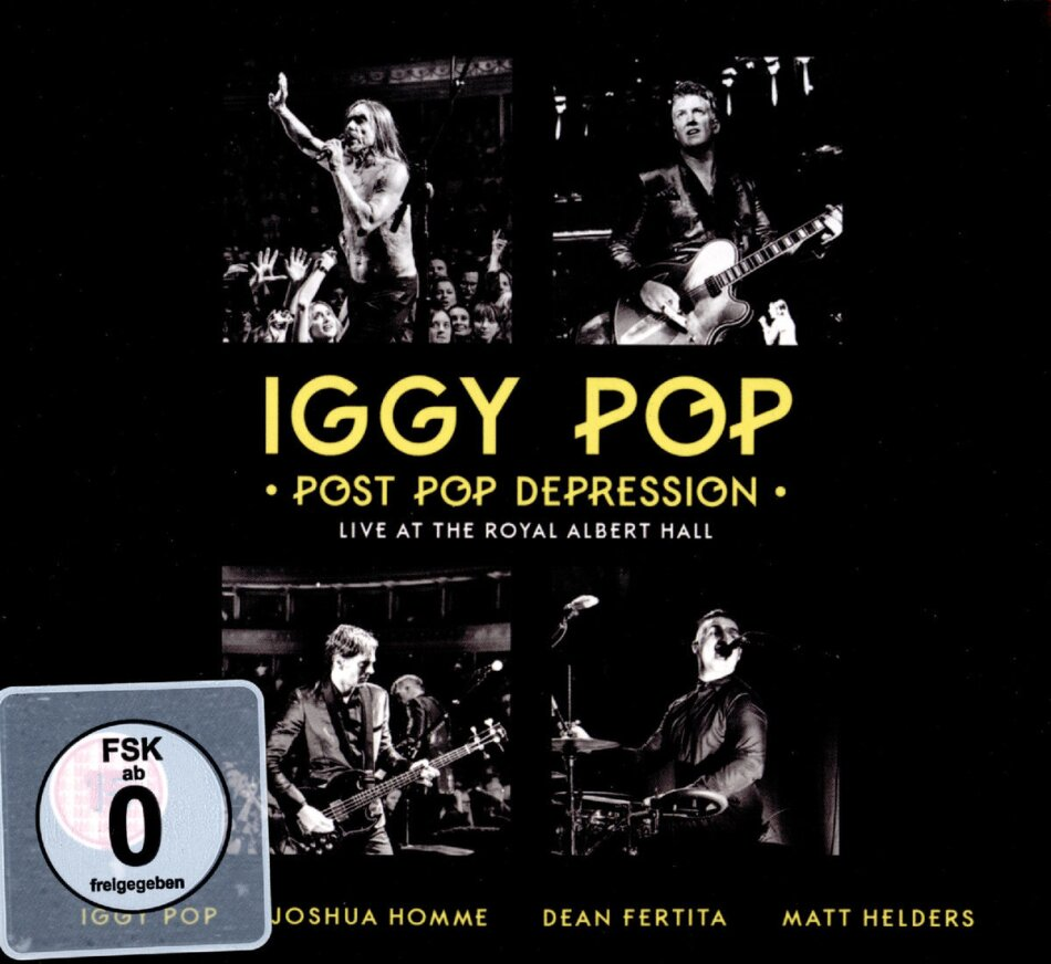 Iggy Pop - Post Pop Depression - Live at The Royal Albert Hall (DVD + 2 CD)
