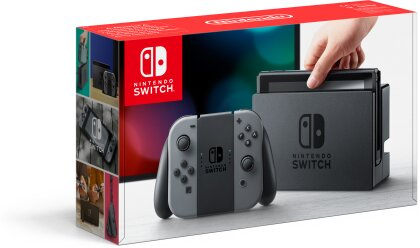 Nintendo Switch Konsole Grey