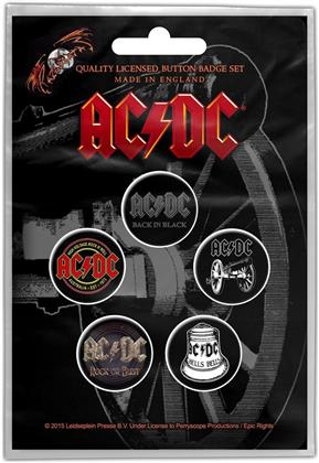 AC/DC - For Those About To Rock Button Badge Set