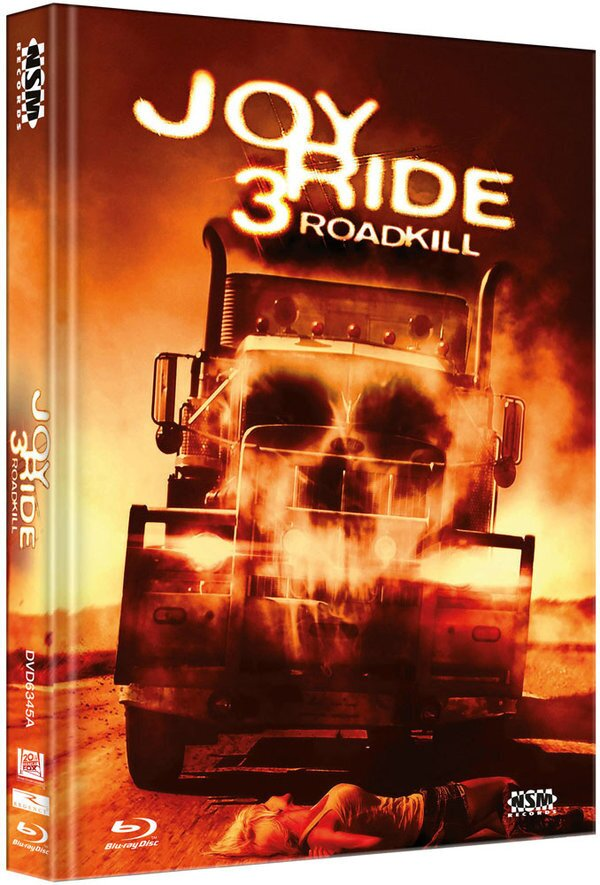 Joy Ride 3 - Roadkill (2014) (Limited Edition, Cover A, Mediabook, Unrated, Blu-ray + DVD)