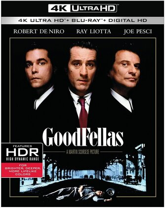 Goodfellas (1990) (4K Ultra HD + Blu-ray)