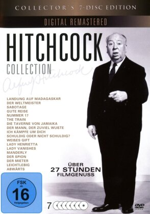 Hitchcock Collection (s/w, Collector's Edition, Remastered, 7 DVDs)