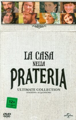 La Casa nella Prateria - Ultimate Collection - Stagioni 1-8 (48 DVDs)