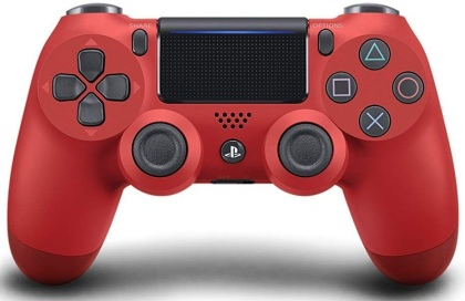 Sony Dualshock 4 Controller Magma Red Neu
