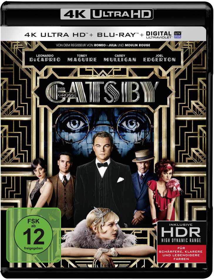 Der Grosse Gatsby (2013) (4K Ultra HD + Blu-ray)