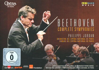 Orchestra of the Opera National de Paris, … - Beethoven - The Complete Symphonies (Arthaus Musik, 4 DVDs)