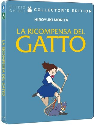 La ricompensa del gatto (2002) (Collector's Edition, Edizione Limitata, Steelbook, Blu-ray + DVD)