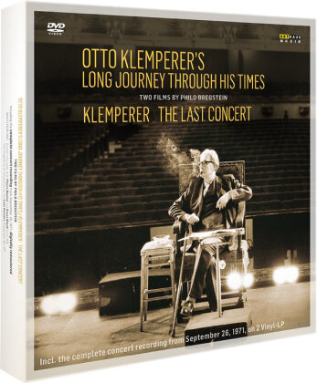 Otto Klemperer - Otto Klemperer´s Long Journey through Times - The Last Concert (Arthaus Musik, Limited Edition, 2 DVDs + 2 LPs + Buch)