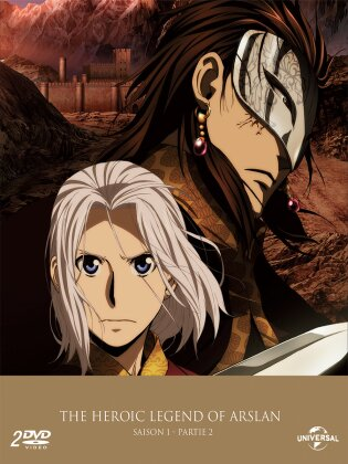 The Heroic Legend of Arslan - Saison 1 - Partie 2 (Collector's Edition, 2 DVDs)