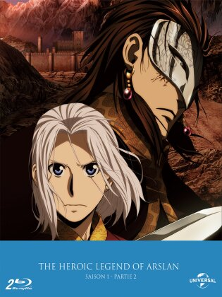 The Heroic Legend of Arslan - Saison 1 - Partie 2 (Collector's Edition, 2 Blu-rays)