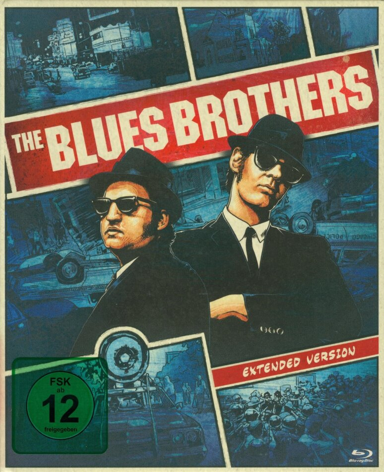 The Blues Brothers (1980) (Extended Edition, Versione Cinema, Edizione Deluxe Limitata, Mediabook, 2 Blu-ray + DVD)