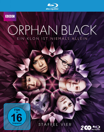 Orphan Black - Staffel 4 (BBC, 2 Blu-ray)