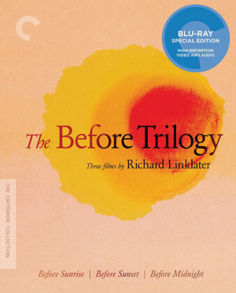 Before Sunrise / Before Sunset / Before Midnight - The Before Trilogy (Criterion Collection, 3 Blu-rays)
