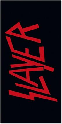Slayer: Logo - Badetuch